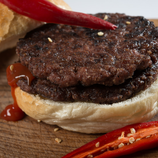 British Beef And Chilli Burgers