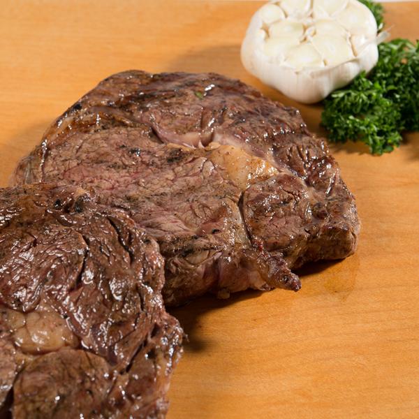 British rib-eye steaks