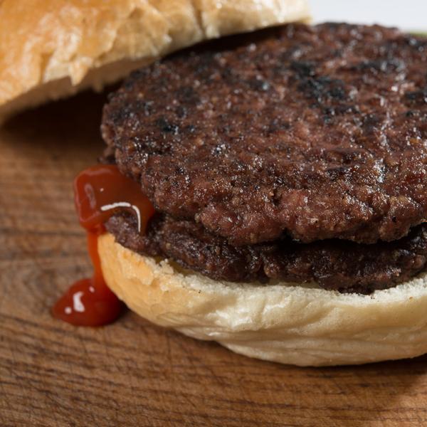 Handmade British Gluten Free Beef Burgers
